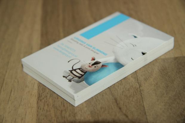 Huisstijl Designcy visitekaartje voorkant